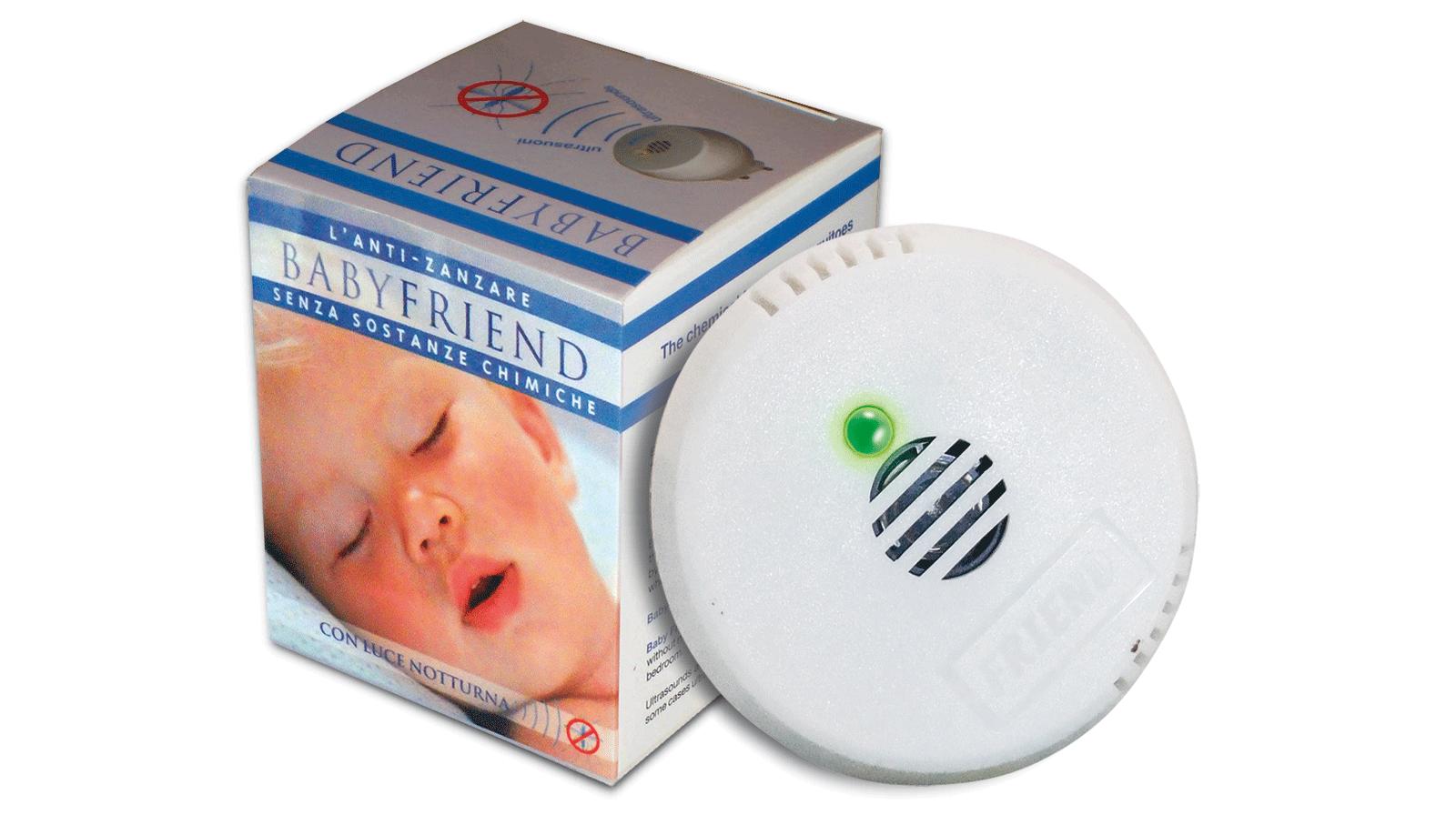 BabyFriend, gli ultrasuoni contro le zanzare