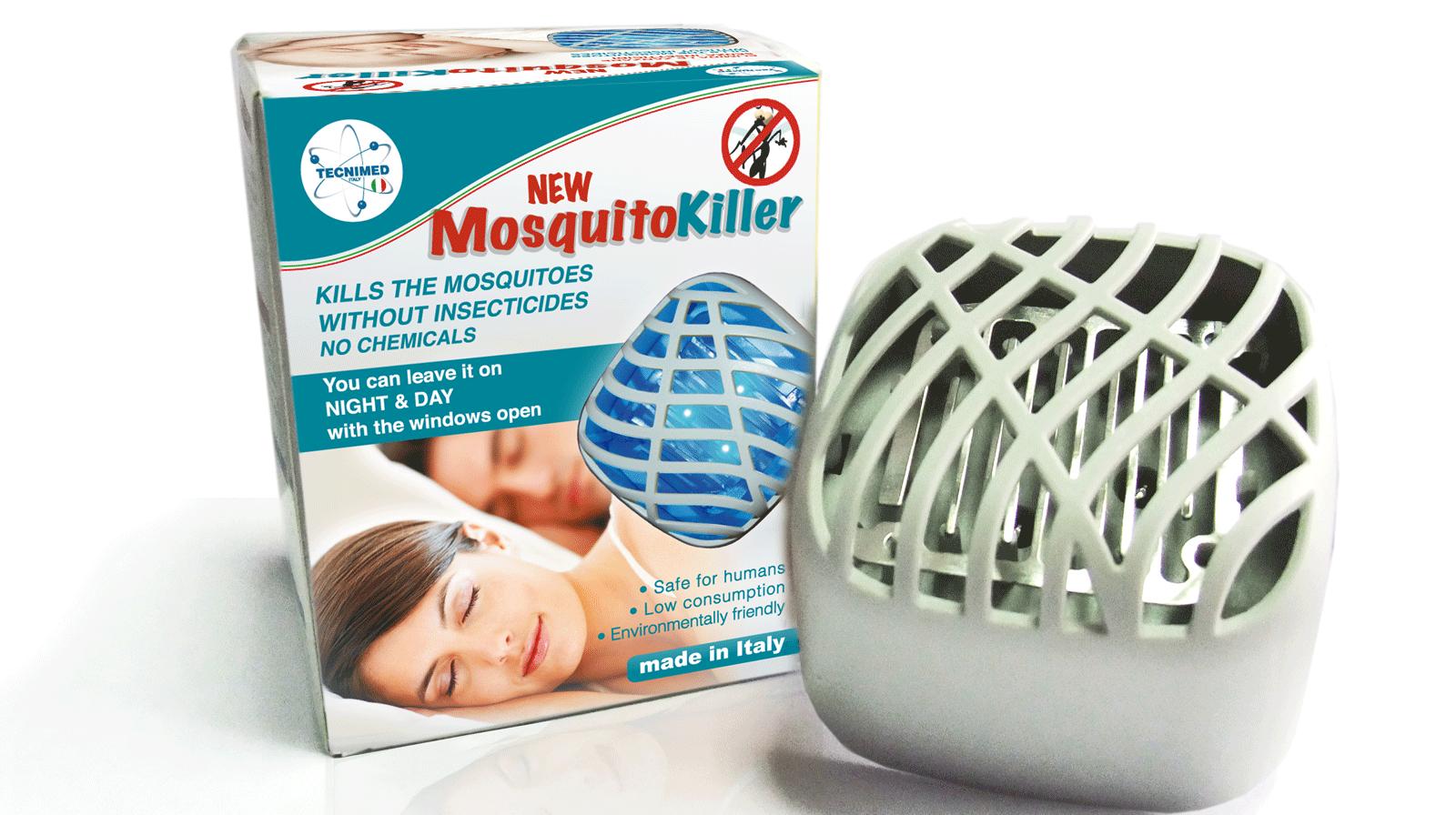 MosquitoKiller e la sua confezione